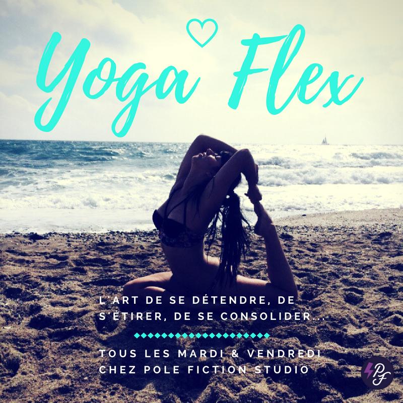 Yoga Flex Pole Fiction Studio Toulouse