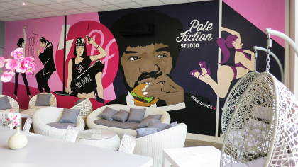 Pole Fiction Studio Toulouse Lounge