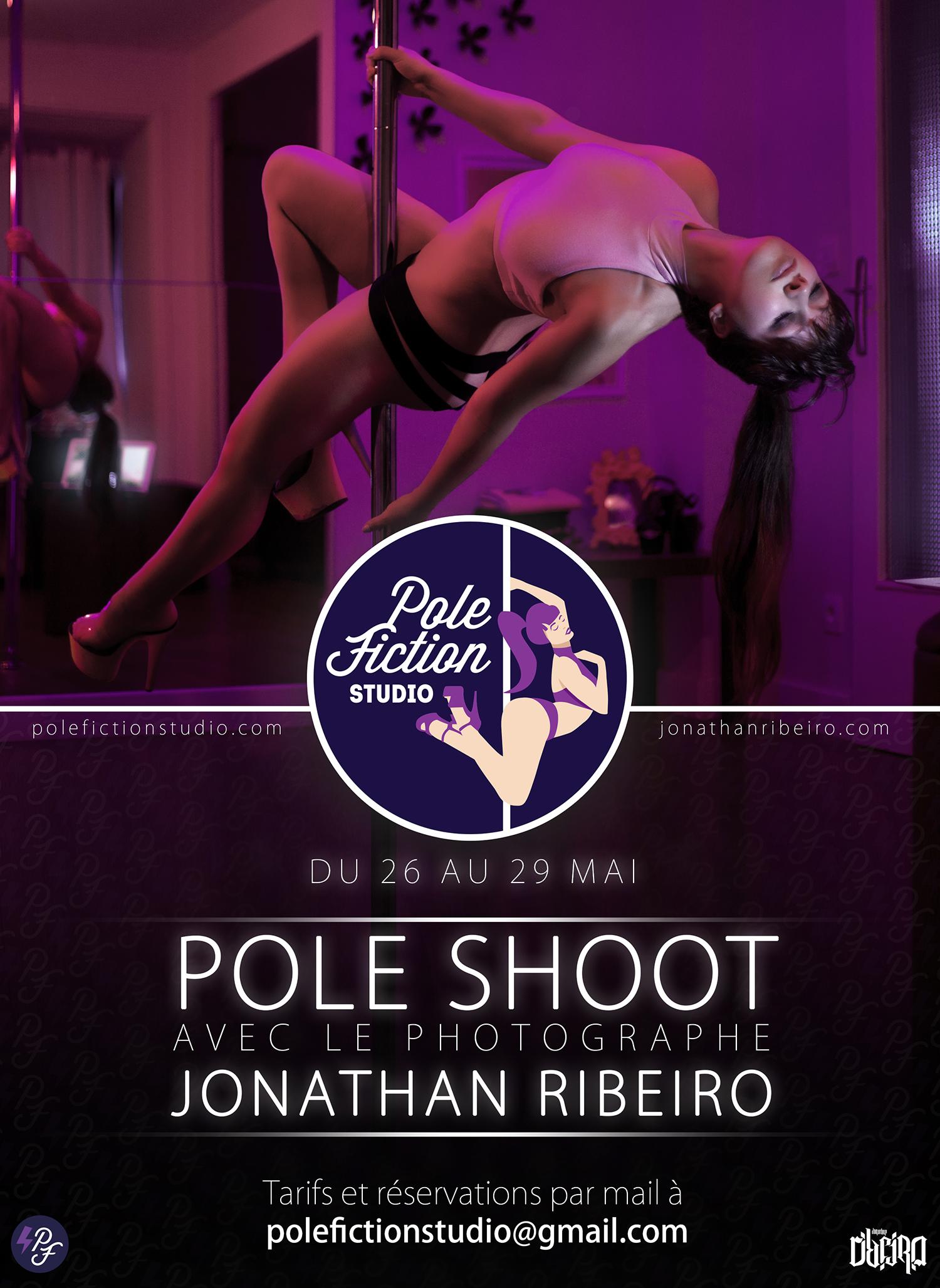 Pole Shoot Dark Pink Toulouse