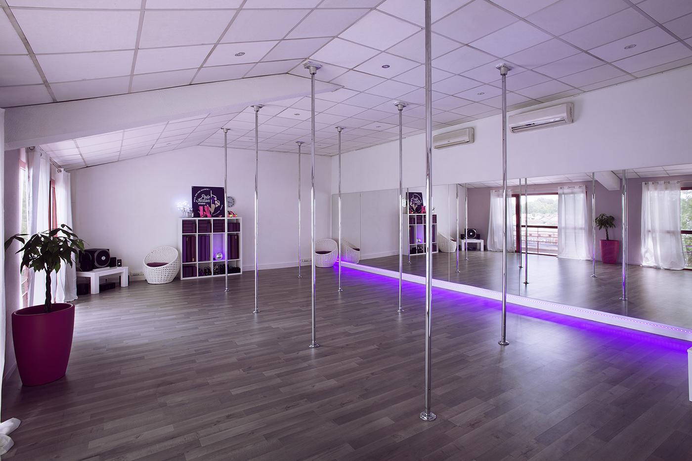 Le plus beau studio de Pole Dance à Toulouse